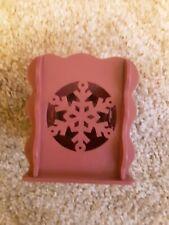 Snowflake Wooden Holder