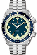 ✅ PROMETHEUS EAGLE RAY BLUE DIAL DIVER 300M INTERNATIONAL SHIPPING US DEALER