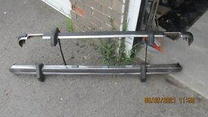 Ford Escort MK2 Ghia front and rear bumpers with good overriders.