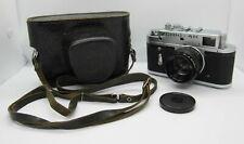 Russian RF camera ZORKI 4K lens JUPITER-8 2/50 EXC!!!