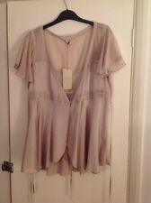BNWT Stella McCartney for H&M blush silk blouse size 16