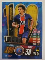 2020/21 Match Attax UEFA Champions League - Marquinhos 100 Club PSG