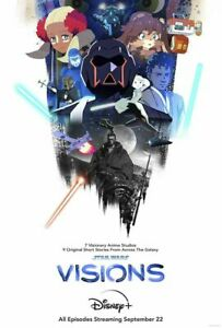 """Brand New: """"Star Wars: Visions"""" Payoff 27"""" x 40"""" D/S Poster w/ Free Shipping"""