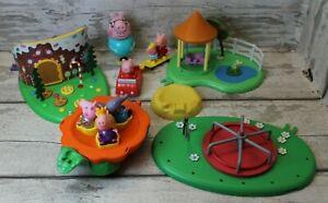 Peppa Pig Bundle plus 7 figures
