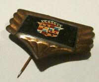 CADILLAC ELDORADO DEVILLE car Stick pin badge vintage 1950- 1960 tin lithograph