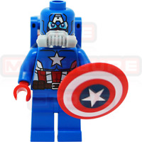LEGO Marvel Super Heroes Space Captain America Minifigure from 76049