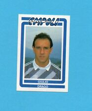 CALCIO 1988-EUROFLASH-Figurina n.78- DRAGO- EMPOLI -NEW