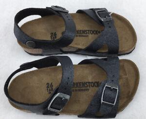 Birkenstock Rio Sandals Kids  Black N765