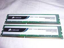 Corsair VS2GB1333D3 2x 2GB 4GB DDR3 RAM Arbeitsspeicher Speicher Computer