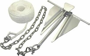 BOAT Slip-Ring Anchor Kit #7 For Boats UP TO 21' Galvanized, Rust Resistant