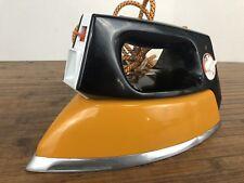 Vintage Morphy Richards iron model 4186 - Orange