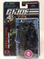 GI JOE The Pursuit Of Cobra: Jungle Viper  No.1013 2010 Action Figure NISP