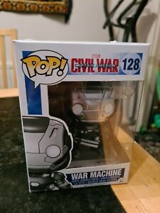 Funko Pop! Marvel Civil War - War Machine Vinyl Figure #128