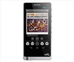 Sony Hi-Res walkman NW-ZX1 128GB Silver High Resolution Portable player MP3 USED