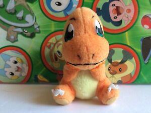 Pokemon Plush Charmander 2004 Stuffed Doll figure Mini Bandai Friends Series Toy