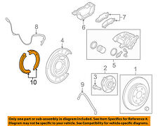 GM OEM Parking Brake-Shoes 22782942