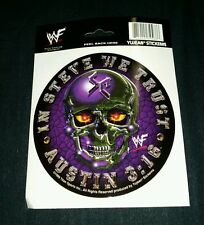 "NEW WWE Stone Cold Austin sticker Yujean decal 5 3/4"" In Steve We Trust CAR RARE"