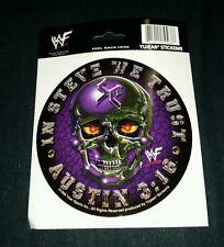 "NEW WWE Stone Cold Austin sticker Yujean decal 5 3/4"" In Steve We Trust CAR RARE"