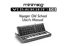 MOOG VOYAGER Old School Service Manual, Repair Techniques, Schematic READ WELL