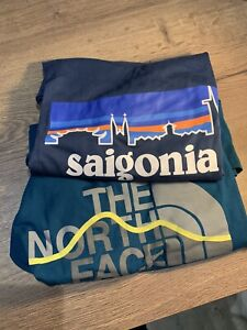 Patagonia And North Face T Shirt