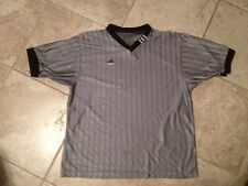 """Adidas Gray Pullover Short Sleeve Mark On Back Collar see last picture 51"""" chest"""
