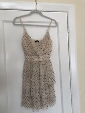 Abercrombie & Fitch Women's Polka Dot Tiered Tulle Dress Size XS
