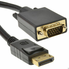 New Display Port DP Male to VGA male Adapter Converter Cable Lead DisplayPort