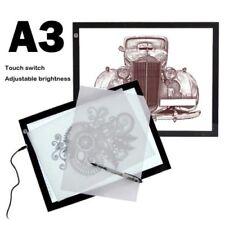 A3 LED Light Box Tracing Board Art Design Stencil Drawing Pattern Copy Pad Thin