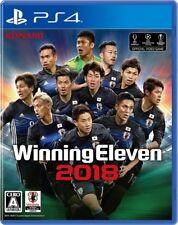 PS4 Winning Eleven 2018 PlayStation 4 Japanese Game Japan