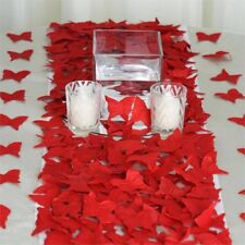 2000 RED BUTTERFLY PETALS Wedding Party Table Decorations Supplies Wholesale