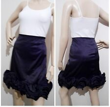 "ALANNAH HILL size 12 rrp $289  ""Oh You Little Fool!"" satin SKIRT full ruffle"