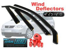 VW TOURAN  2003 - 2010 Wind deflectors  4.pc  HEKO 31143  NEW