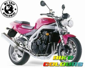 TRIUMPH TOUCH UP PAINT NUCLEAR RED SPEED TRIPLE 955 2001 - 2002.