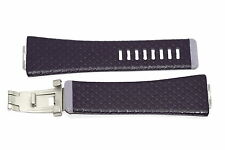 NIKE MERGE LIFT PURPLE REPLACEMENT RUBBER WATCH BAND WC0027