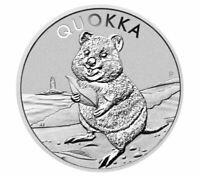 2020 Perth Mint Quokka 1oz Silver Bullion Coin 30,000 mintage