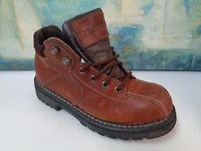 RJ COLT Brown LEATHER Ankle Work Dress Shoes SZ 11M EXCELLENT!