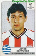 212 JORGE BERMUDEZ COLOMBIA OLYMPIAKOS STICKER PANINI CHAMPIONS LEAGUE 2001-2002