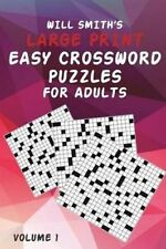 Will Smith Large Print Easy Crossword Puzzles for Adults - Volume by Smith, Will