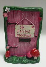 Fairy Door in Bag 11cm Shh Fairies Sleeping Design