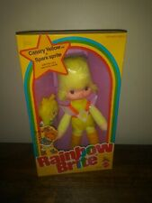 Rainbow Brite Canary Yellow & Spark Sprite Doll New In Box