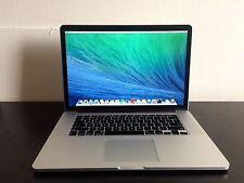Mid 2014 15 Retina Apple Macbook Pro i7 2.2Ghz 16GB 256GB SSD 1.5GB iris pro GPU