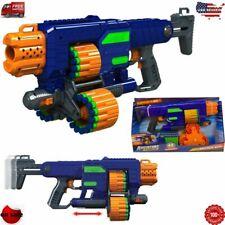 New Foam Dart Gun for Boys Includes 45 Nerf Darts Motorized Blaster Toy Guns NEW