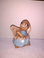Vintage Pendelfin Rabbit Megan the harp england