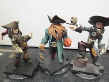 3 figuras de Disney Infinity-Piratas Del Caribe Set-Jack - 360 PS3 Wii