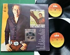 Andy Williams Home Lovin' Man + Born Free inc Alfie & Your Song + 22024 LP x 2