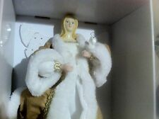 "New in Box ! 12"" Gold / White Dress ANGEL TREETOP"