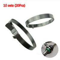 Car Adjustable Axle CV Joint Boot Clamp Drive Shaft Boot Clamps Stainless Steel