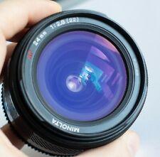 Minolta AF 24mm F2.8 Wide Angle Prime Lens for Sony / Minolta A-Mount