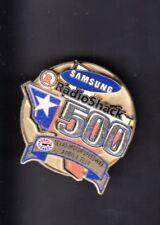 """Samsung/Radio Shack 500 Texas Speedway April 4 2004 Nascar Collectible 1"""" Pin"""