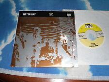SISTER RAY – The King b/w Push Me SUB POP USA 7 inch Single HARDCORE